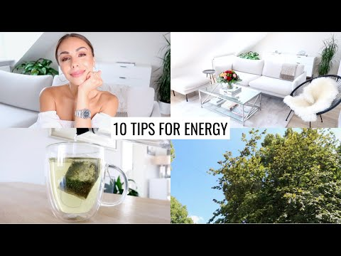 10 NATURAL WAYS TO BOOST ENERGY | Without Coffee | Annie Jaffrey