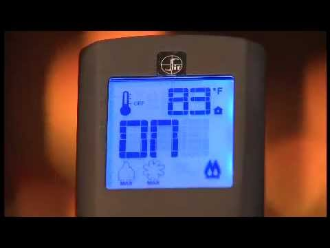 Mendota Fireplace Remote Features - YouTube