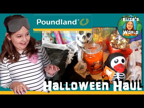 Poundland Halloween Haul | What's in the bag?
