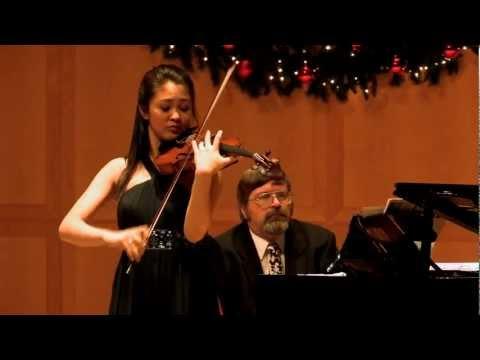 Pablo de Sarasate: Zapateado, performed by Simone Porter