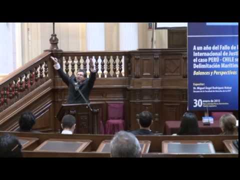 """Conferencia de Rodriguez Mackay """"Al año del fallo de la Haya"""" en el Congreso de la República -  I"""