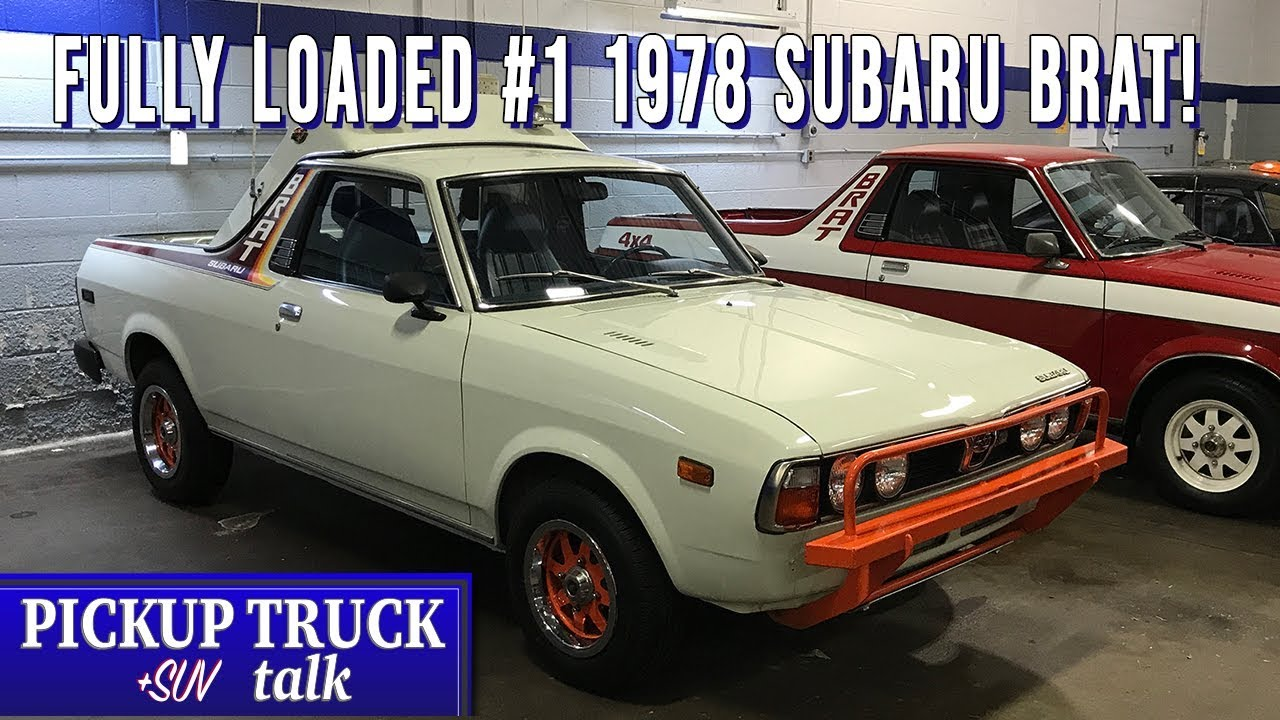 Subaru Pickup Truck >> You Won T Believe This Check Out The First 1978 Subaru Brat
