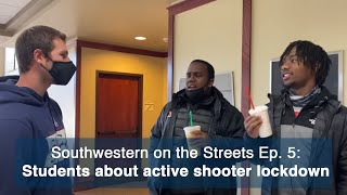 SWOSU students about the active shooter lockdown - Southwestern on the Streets Episode 5