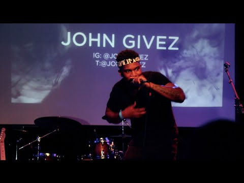 John Gives live at the Bonfire Fire Concert in NYC @johngivez