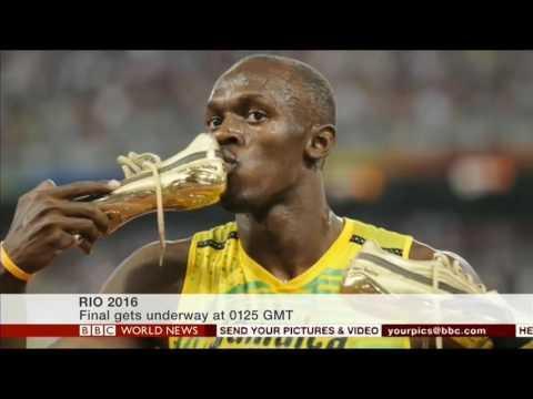 Bolt wins. Sport Today BBC World News