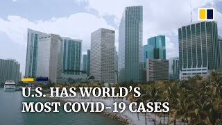 US now has world's most coronavirus cases, surpassing China
