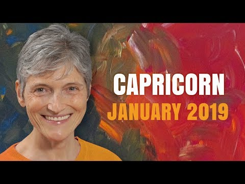 Capricorn January 2019 Astrology Horoscope - Eclipses and Happy Birthday!!