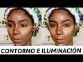 COMO APLICAR CONTORNO E ILUMINACIÓN EN PIEL OSCURA PASO A PASO Mary Pulido