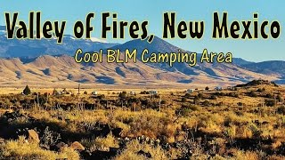 Camping at Valley of Fires National Rec Area