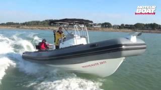 PRO MARINE MANTA 795 - Essai moteurboat.com