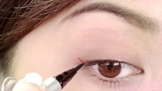 Hướng dẫn cách vẽ đường kẻ mắt thật sắc sảo