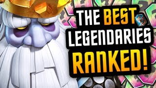 BEST Legendary Cards in Clash Royale After Royal Ghost Update