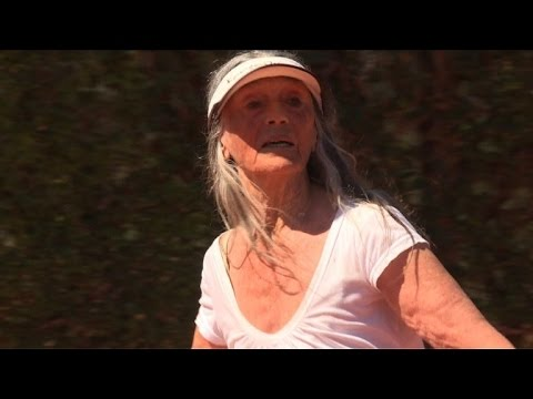 Argentine grandmother revives tennis dream at 83