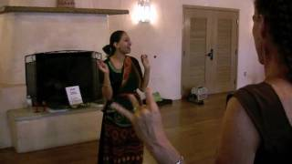 East Indian Dance Workshop at ¡Globalquerque!