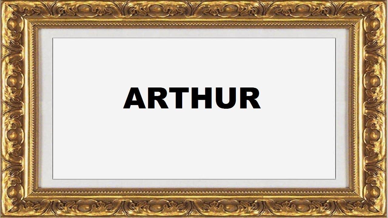 Arthur tem origem Francesa