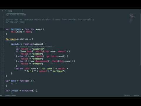 Design Patterns Javascript : Facade Pattern