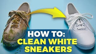 How To Clean White Sneakers   At Home Solutions   Alex Costa