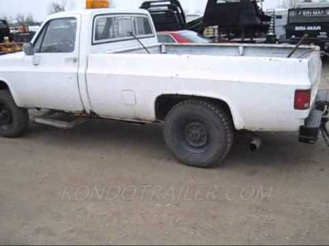 Chevy 6.2 Diesel Truck For Sale >> Military Man 606 6 2 Diesel Turbo 400 1 Ton 4x4 456 Gears 4 Sale