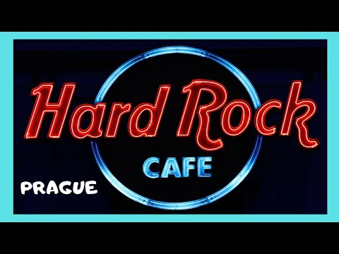 PRAGUE: The Hard Rock Cafe and Bar in the Czech Republic