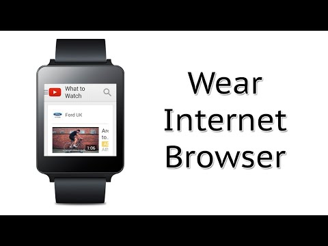 View Websites On Your Android Wear Watch | Wear Internet Browser Android Wear App Review