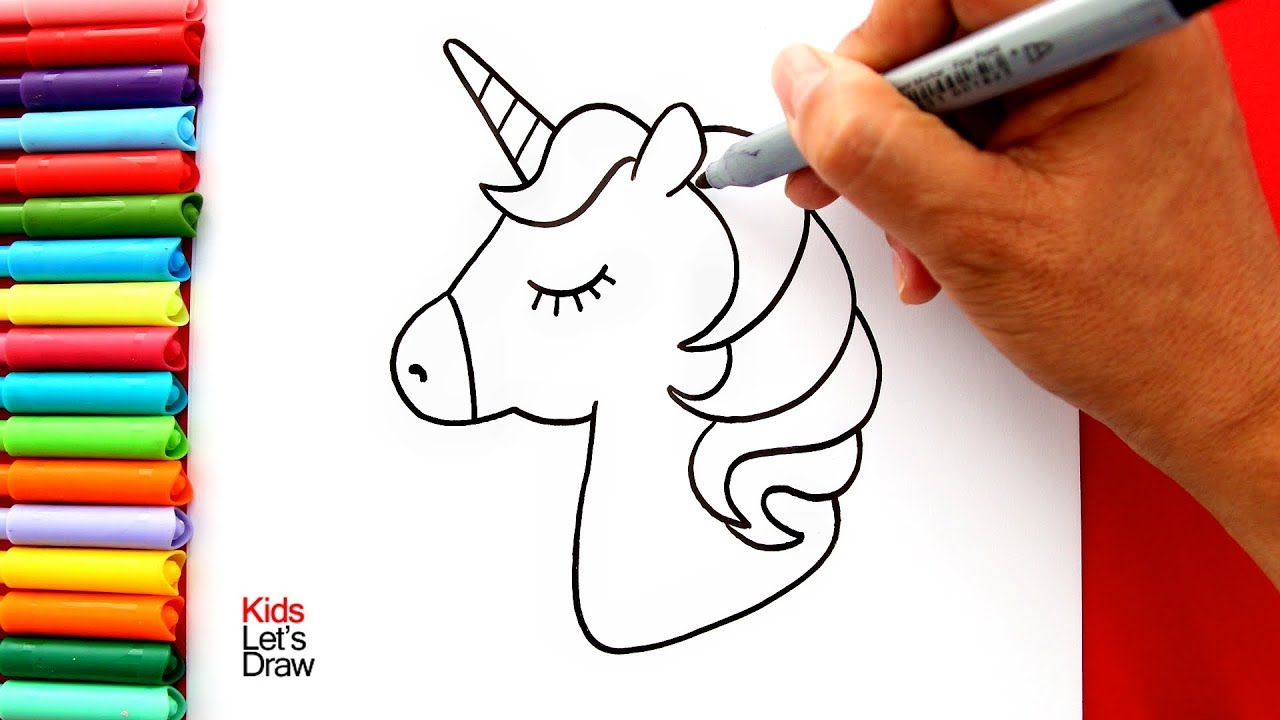 Como Dibujar Y Pintar Un Unicornio Kawaii Muy Facil How To