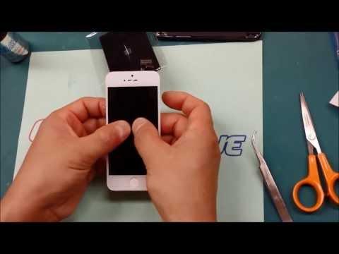 Замена стекла на IPhone 5 при помощи клея Octopus Glue