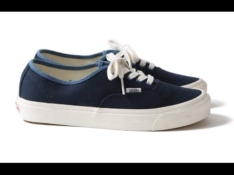 8197241b670454 Shoe Review  Vans Vault Originals x Pilgrim Surf + Supply   OG Authentic LX  (Dress Blues Canvas)