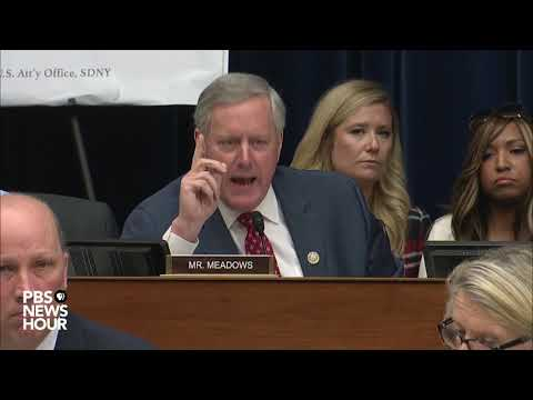 WATCH: GOP congressman challenges Cohen's 'racist' claim against Trump