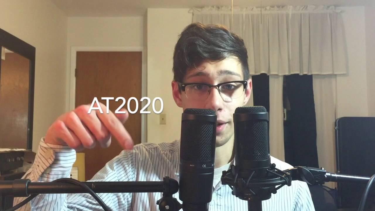 AT2020 vs AT2035 Mic Shootout - YouTube