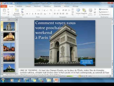 Comment cr er un diaporama sonoris avec powerpoint 2010 - Comment faire un powerpoint open office ...