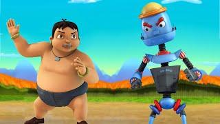 Super Bheem - @Kalia Ustaad VS The Super Powerful Robot | Fun Kids videos |Cartoon for Kids in Hindi
