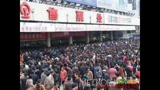 The most crowded country in the world , China
