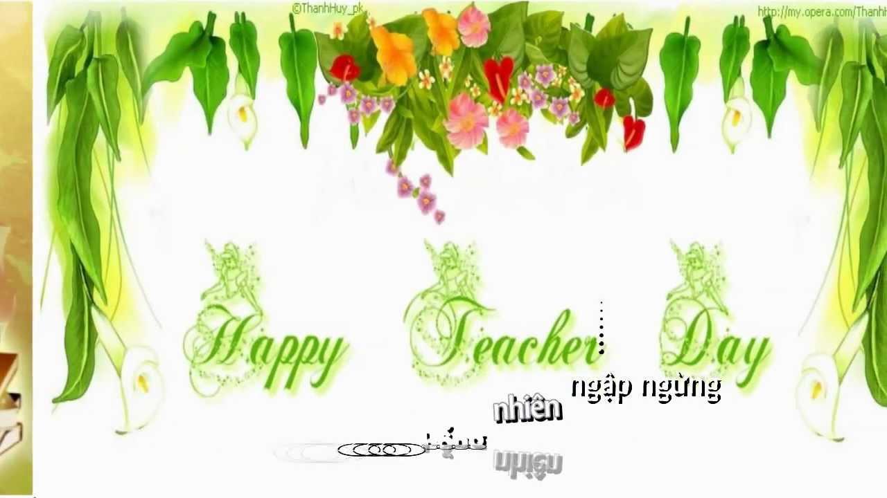Tặng Thầy Cô Giáo Nhân Ngày 20/11 Trường THPT Đồng Bành
