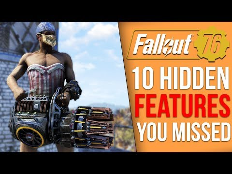 10 Features Fallout 76 Never Tells you About (Fallout 76 Tips)