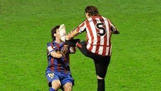 Las Entradas Mas Fuertes Contra Lionel Messi