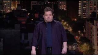 the late show with david letterman patton oswalt s b words 2009 08 21