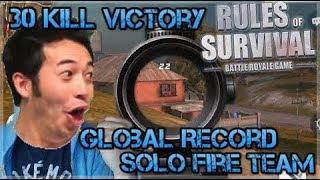 NA #1 GrandMaster Slayer - Global Record Set 30 Kills Solo FireTeam WIN