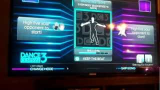 XBOX 360 Kinect Dance Central 3 Game