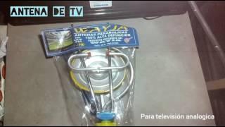 Antena de tv nivel original- que no te estafen