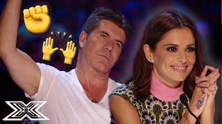 Simon STOPS Audition But Contestant Comes Back FIGHTING | X Factor Global
