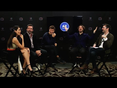 Edgar Wright and the cast of Baby Driver play film trivia