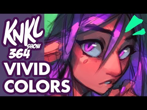 KNKL 364: How to paint VIVID Colors! (Easy and fun color theory experiments!)