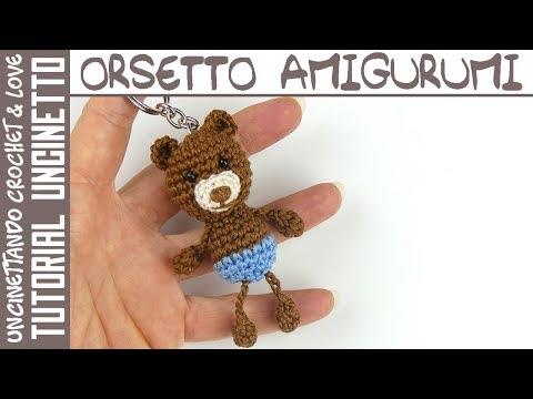 Uncinetto: Come fare orsetto amigurumi - Istruzioni in Italiano   360x480