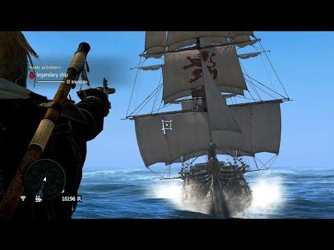Assassin's Creed 4 Legendary Ship El Impoluto Flawless