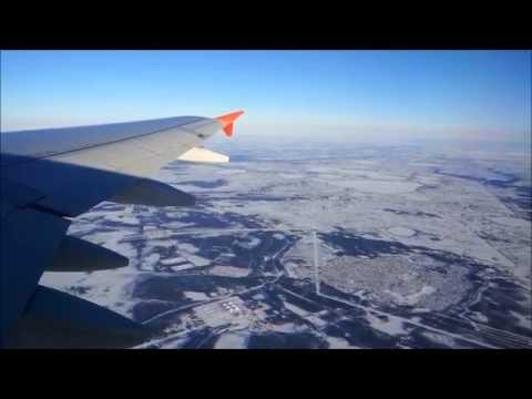 Перелёт Сургут-Москва.Аэрофлот А-320 09.04.2015