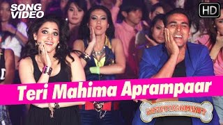 Teri Mahima Aprampaar Video Song | Entertainment