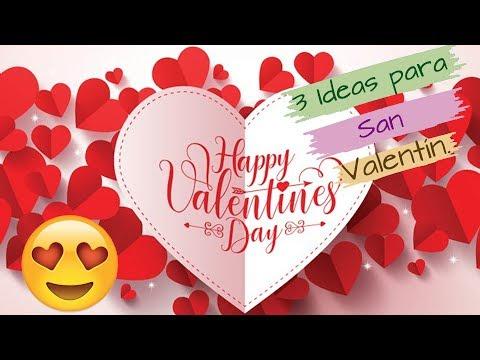 3 Ideas CON CARTÓN  para San Valentín
