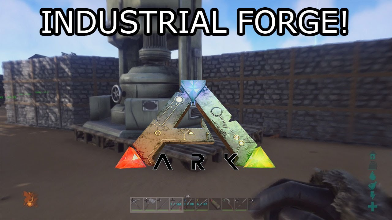 ark survival evolved xbox one industrial forge s1 ep16 youtube. Black Bedroom Furniture Sets. Home Design Ideas