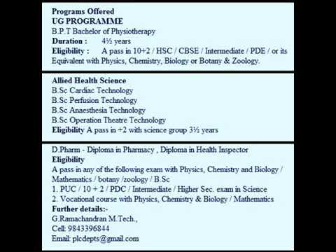 Sanitary Inspector Course details   | Diploma in Health Inspector - 2 Years   | Tamilnadu