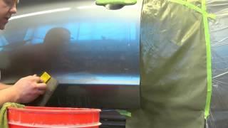 видео Потеки при покраске авто